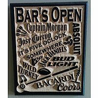 Bars Open Signs
