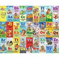 Animal Alphabet - 24 pc kids puzzle