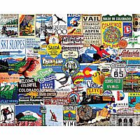 I Love Colorado - 1000 pc puzzle