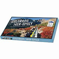 Colorado 14er -opoly