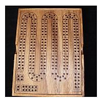 Cribbage large with cover