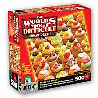 Killer Cupcakes - Worlds Most Difficult Jigsaw
