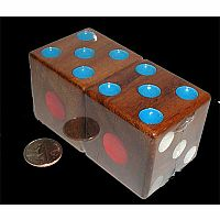 "Dice, big 1.5"" (set of 2)"